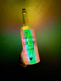 Light Up Bottle